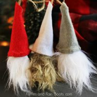 DIY Swedish Gnome Ornaments from Wine Corks – Holiday Fun!