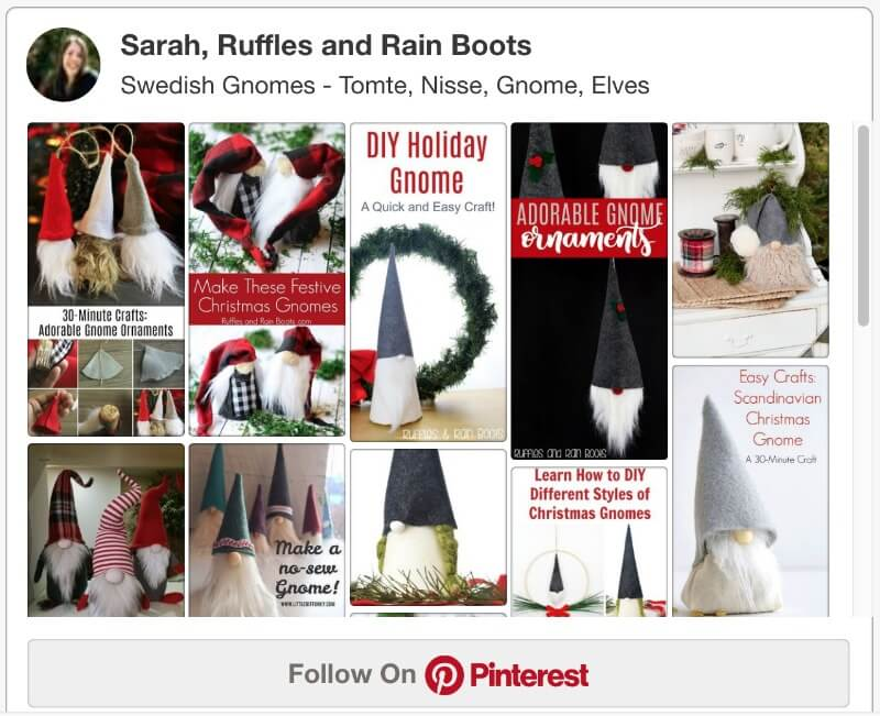 Swedish Gnomes and Tutorials on Pinterest