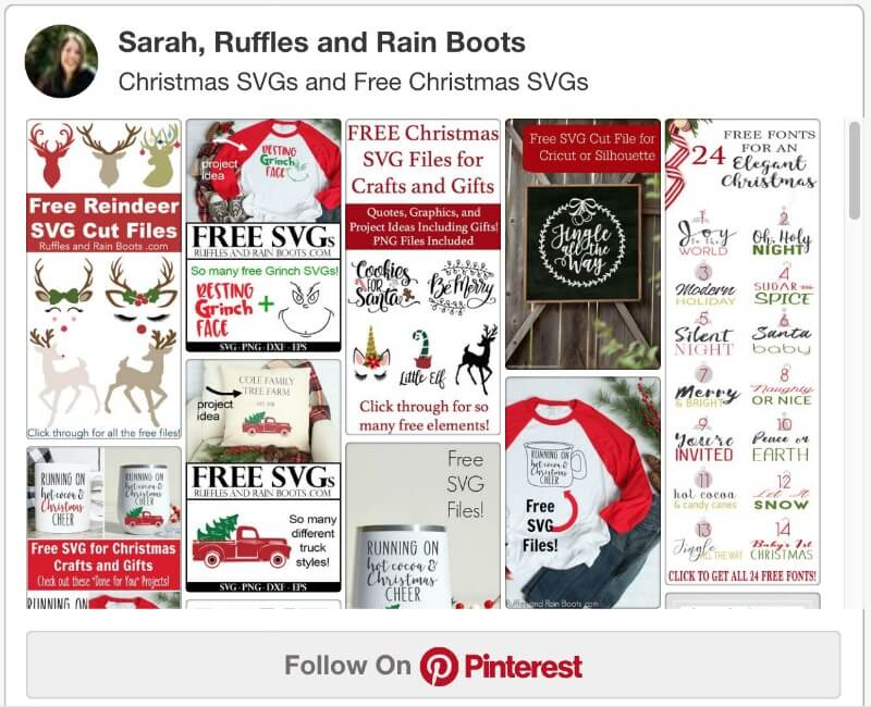 free Christmas svgs on Ruffles and Rain Boots