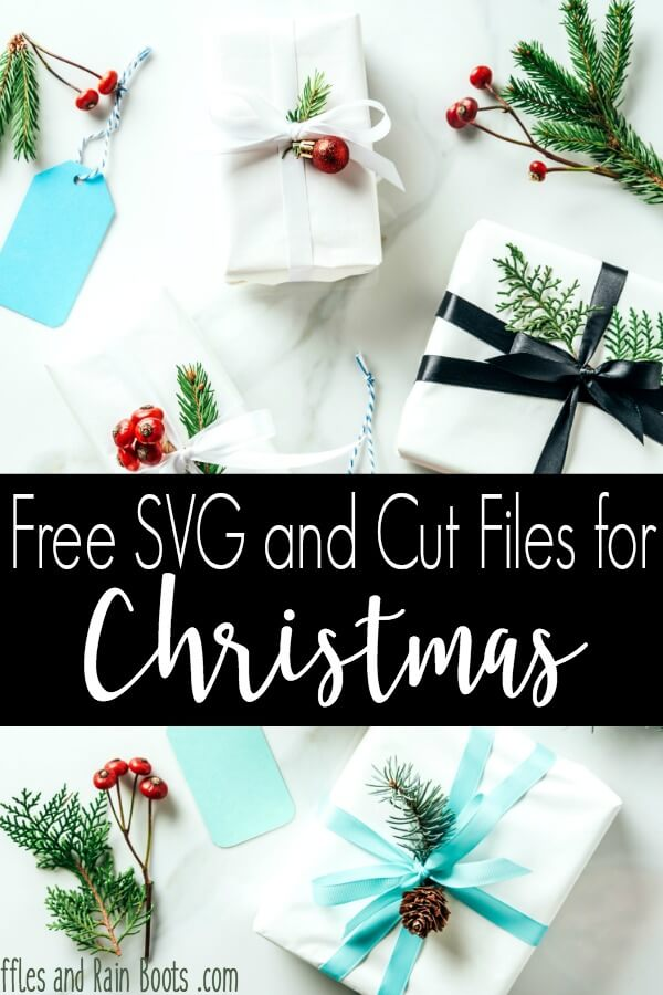 These free Christmas SVGs and cut files are perfect for holiday crafts, decor, and gifts. #Christmas #ChristmasSVGs #freeSVGs #Cricut #Silhouette