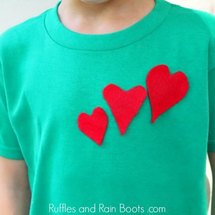 T-Shirt Grinch Craft for Kids