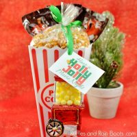 Movie Gift Idea – A Movie Basket for a Movie Lover!