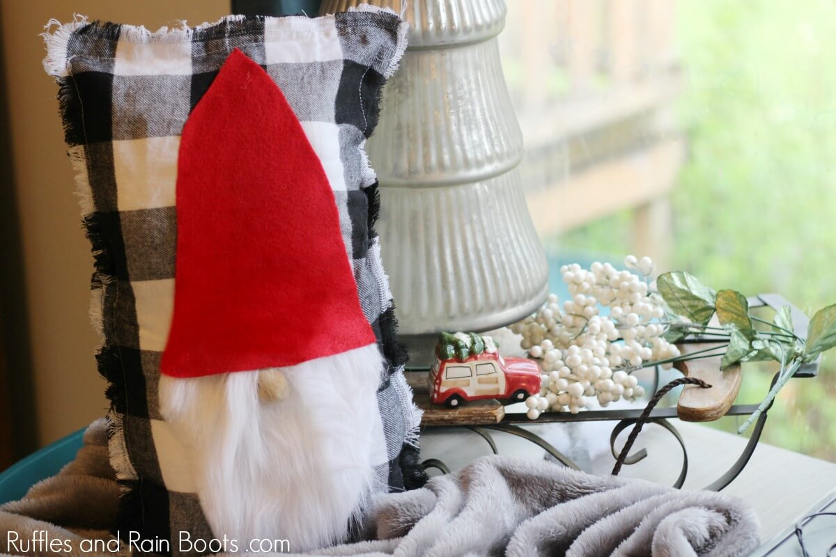 DIY Swedish Gnome Pillow Tutorial