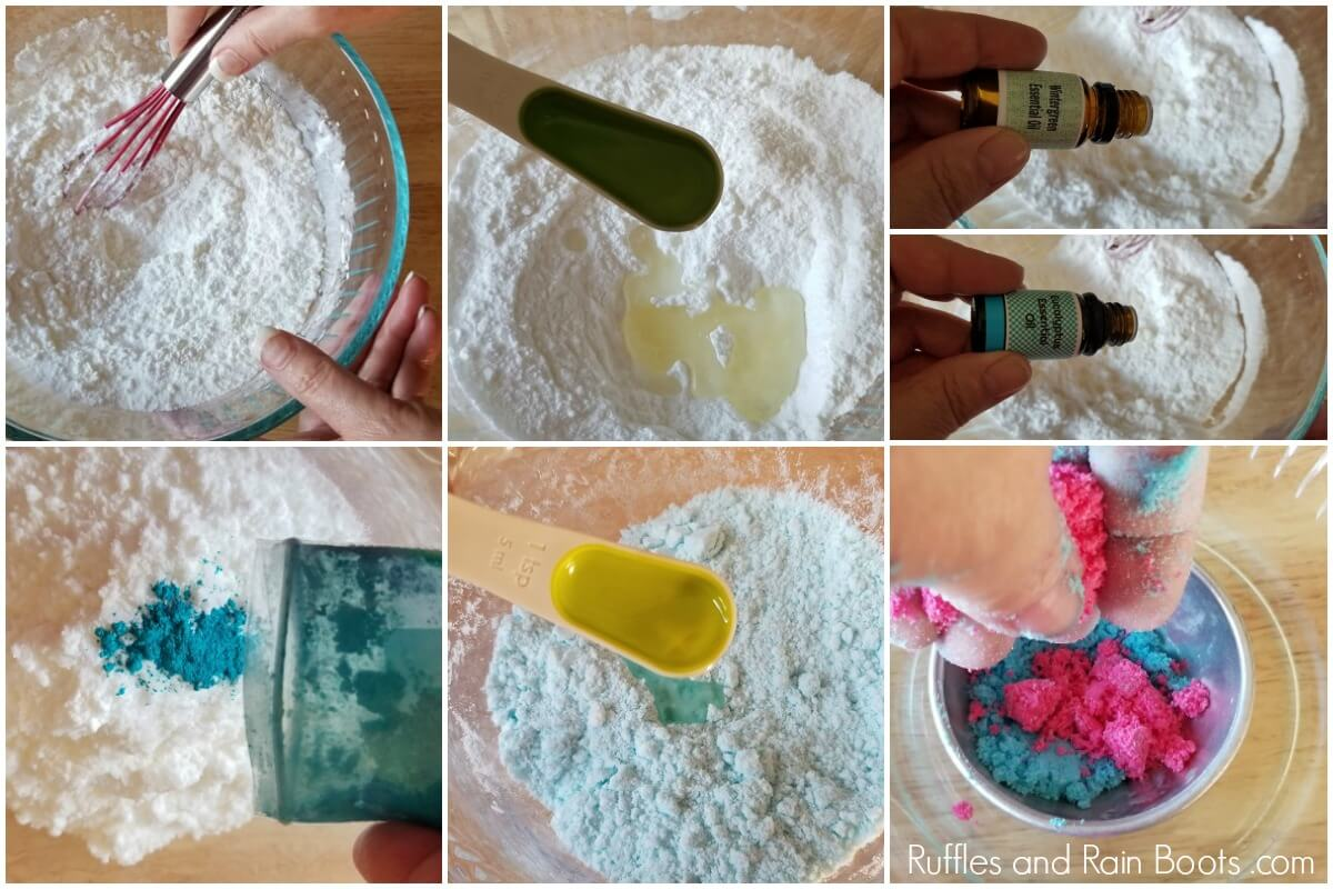 how to make decongestant bath bombs for cold and sinus relief