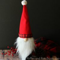 Christmas Gnome Wine Bottle Cover – Great for Gifting!