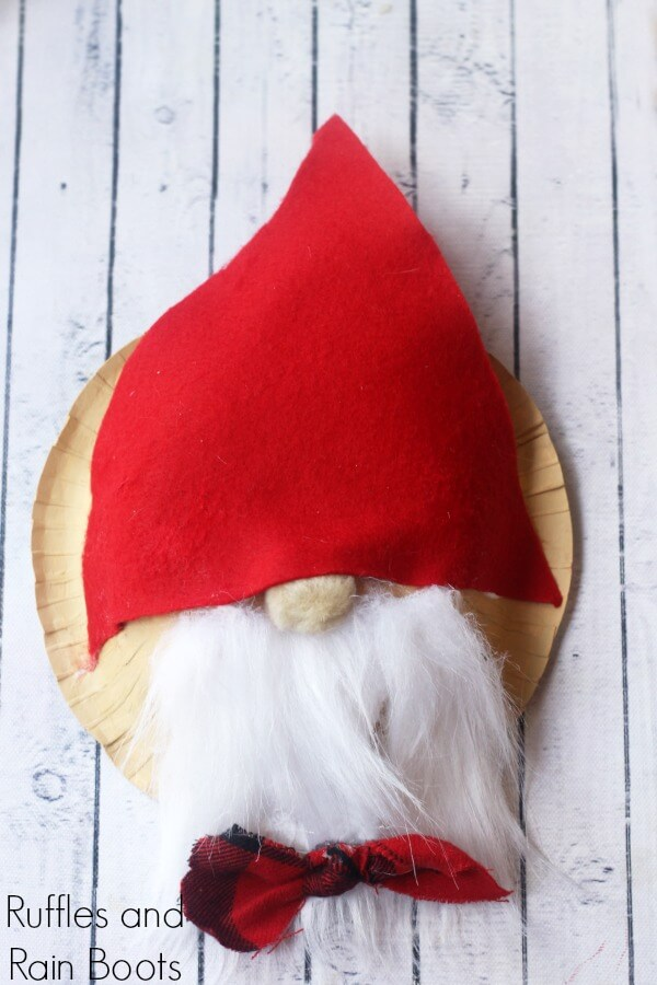 Adorable Swedish Gnome - Christmas Craft for Kids