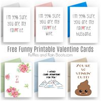 Funny Printable Valentines Cards for Adults