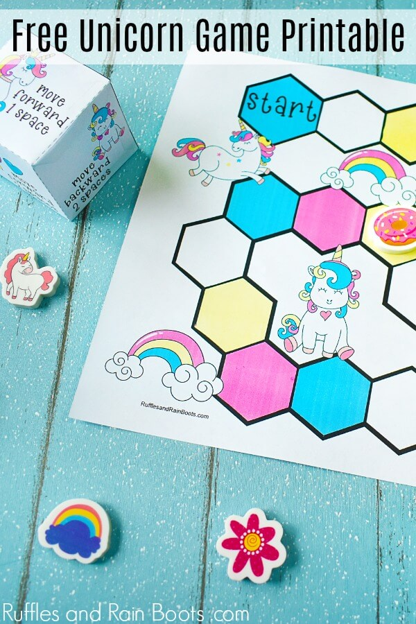 photo relating to Free Unicorn Printable named Free of charge Printable Unicorn Social gathering Match