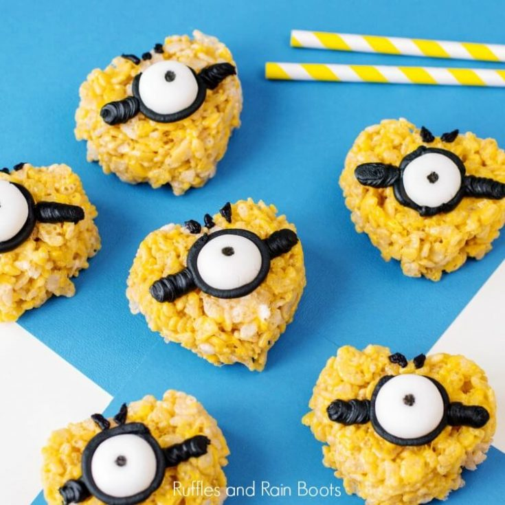 Minion Rice Krispies™ Treats