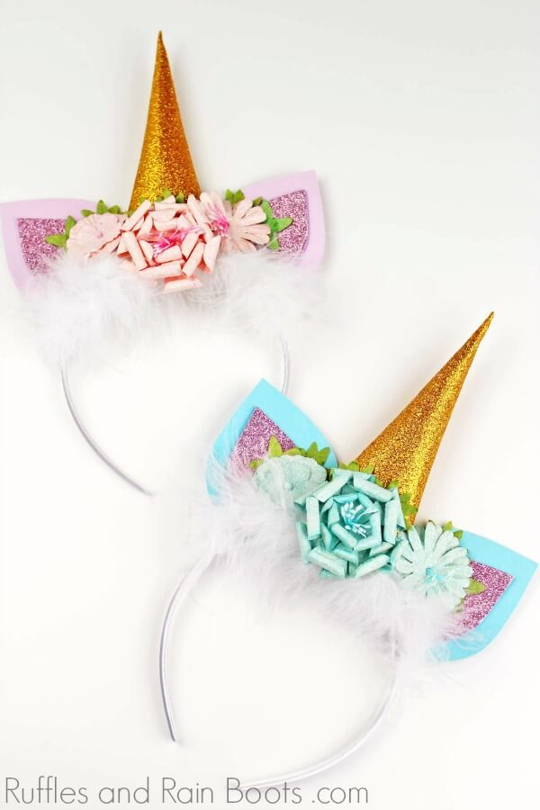 DIY Unicorn headband for Unicorn Party or gift