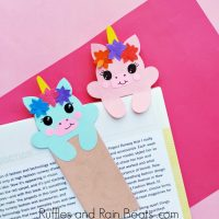DIY Unicorn Hug Bookmark with Free Printable