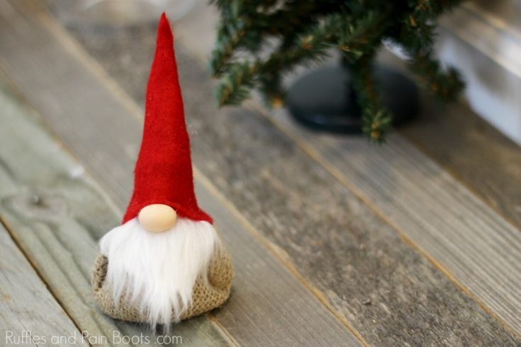 Gnome Lavender Sachet DIY and 4 Reasons You Need This!