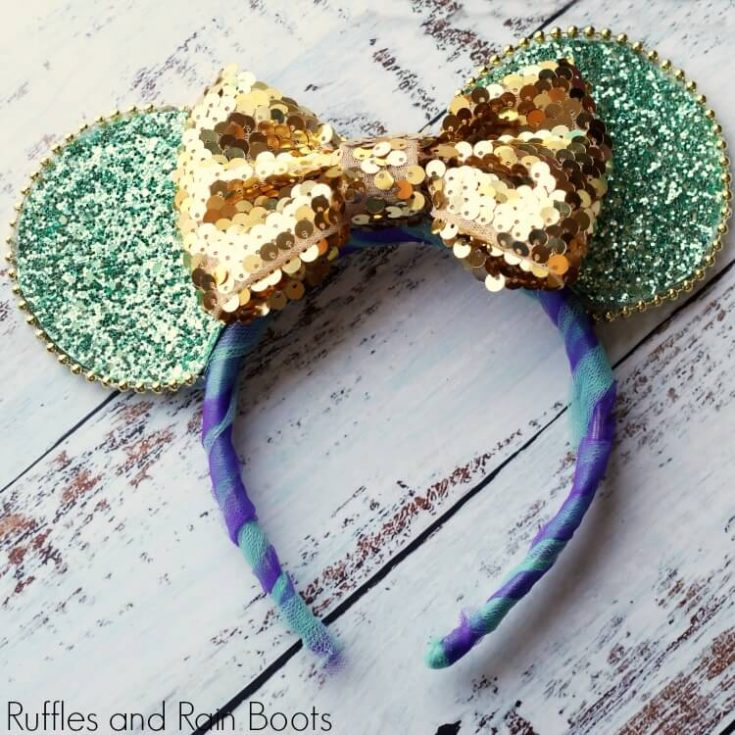 Jasmine Mickey Mouse Ears