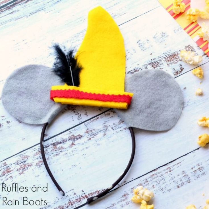 DIY Dumbo Mickey Mouse Ears Tutorial