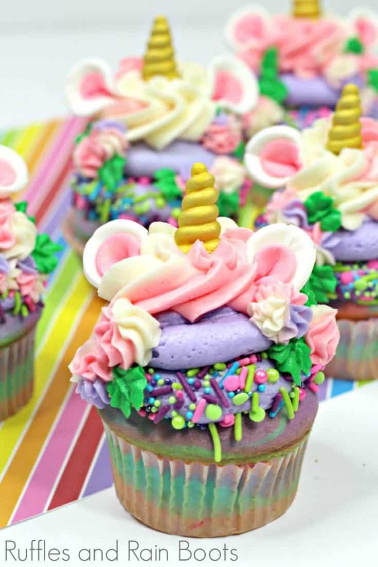 A Unicorn Cupcake That is Truly WOW Worthy!