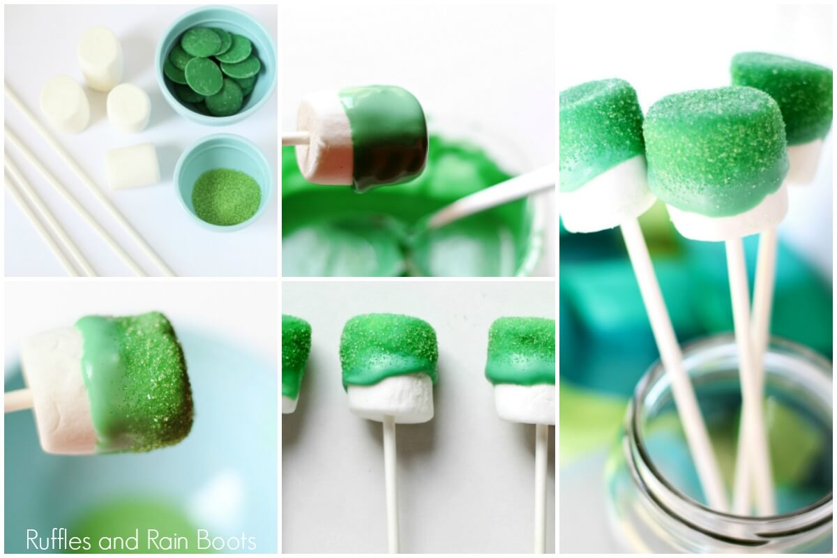 learn how to make dipped marshmallows