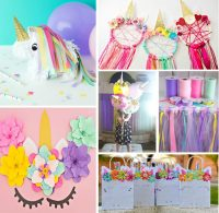 DIY Unicorn Party Decorations You Can Make Yourself