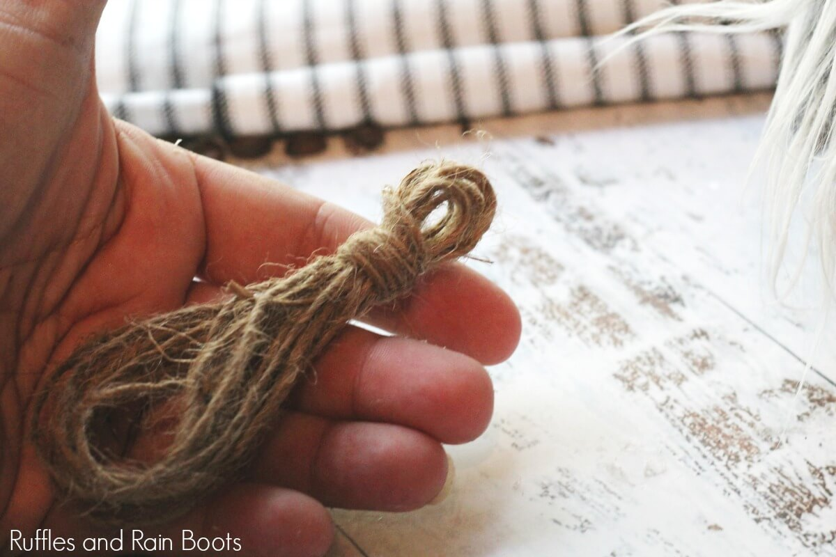how to make a farmhouse tassel