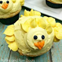Chick Cupcakes for Easter – They'll Steal Your Heart