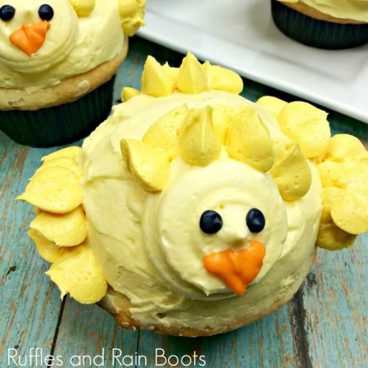 Chick Cupcakes for Easter - They'll Steal Your Heart