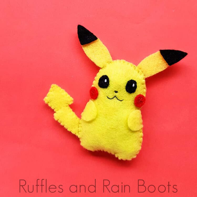 Use This Pikachu Pattern for a Fun Beginner Sewing Pokemon Craft