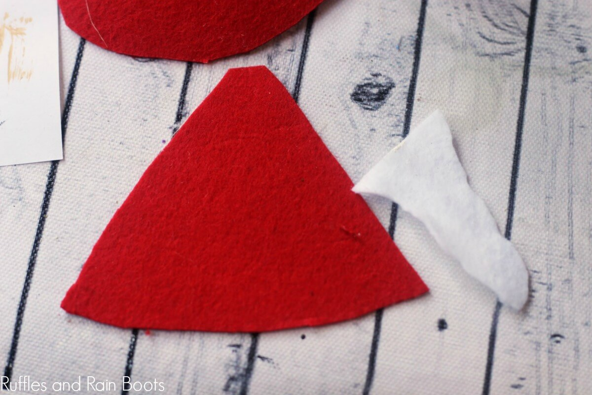 another option of fabric for creating the peg doll craft hat