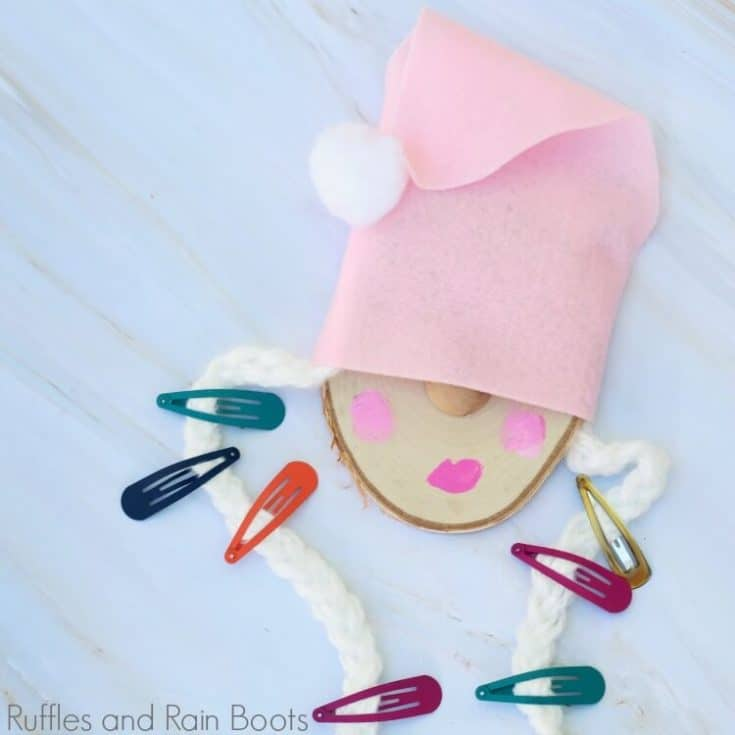 Gnome Barrette Holder