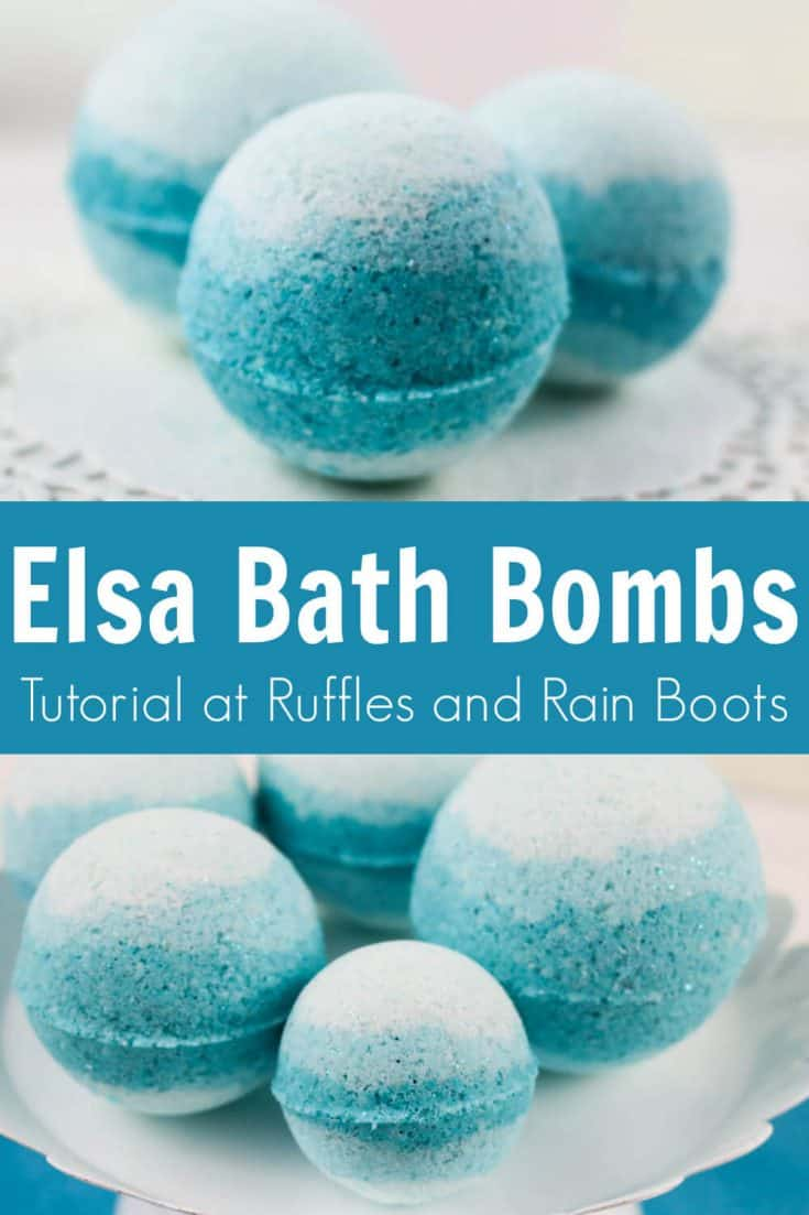These gorgeous Frozen bath bombs are just too pretty! I love how simple these Princess bath bombs are. Click here to see how she makes this fun Frozen gift idea in minutes!