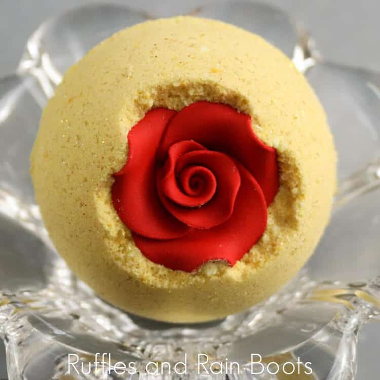 Princess Belle Bath Bombs for Beauty and the Beast Fans