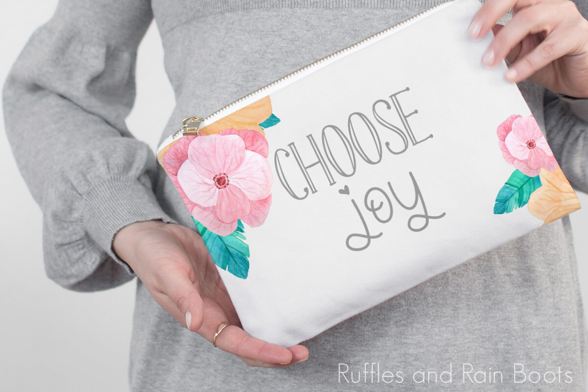 choose joy free svg for Cricut and Silhouette machines