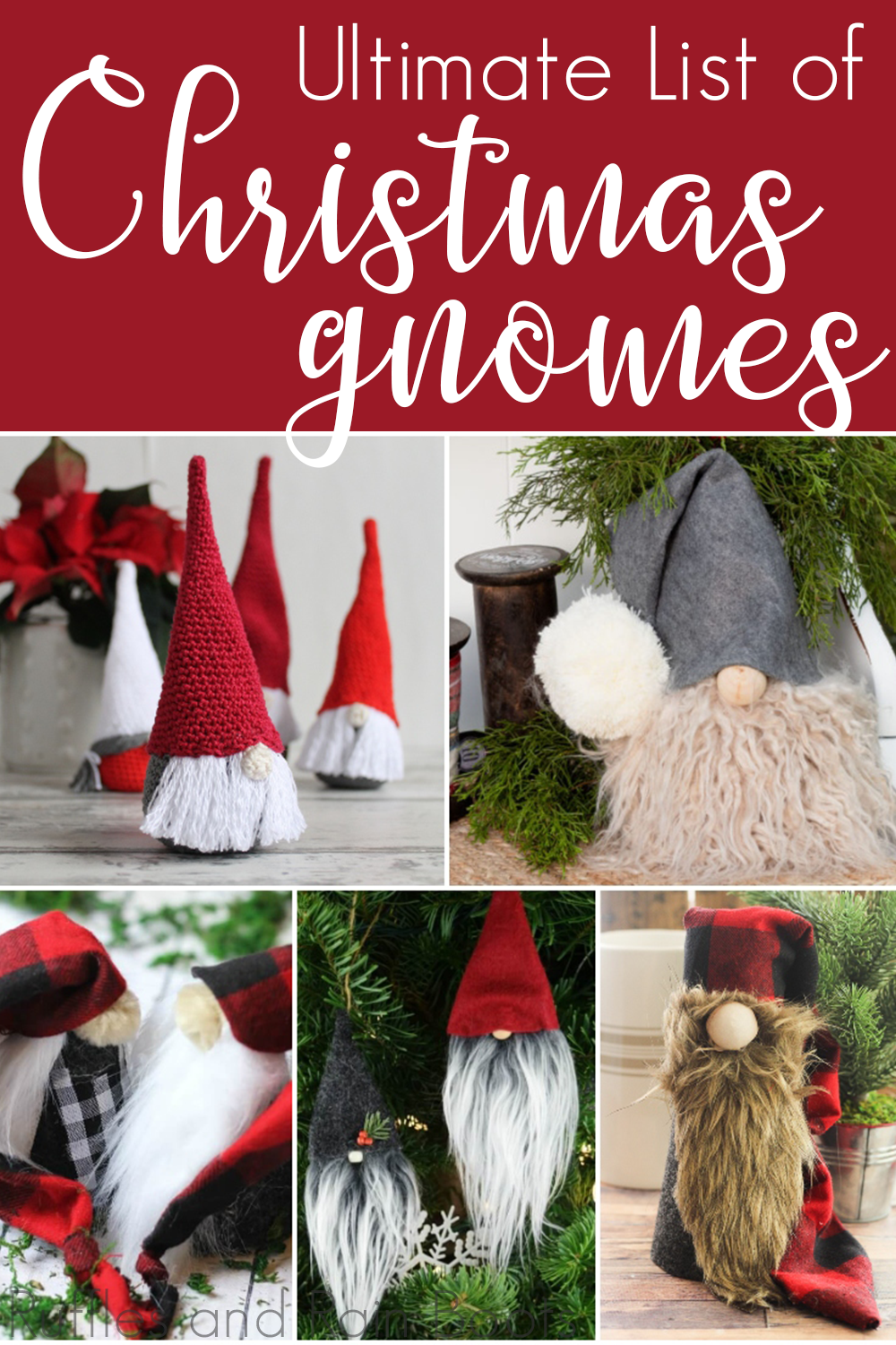 ultimate list of christmas gnome tutorials