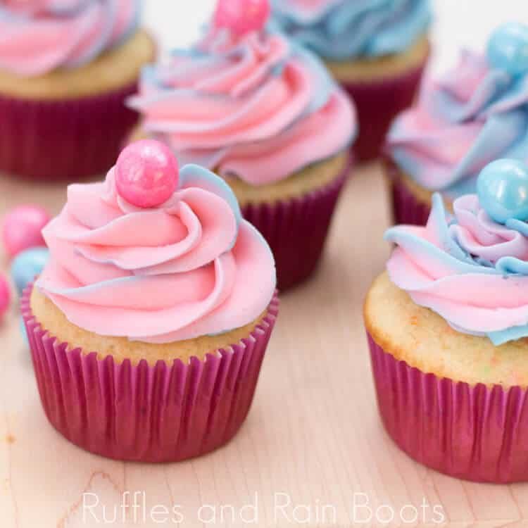 These Yummy Bubblegum Cupcakes are Perfect for Any Party!