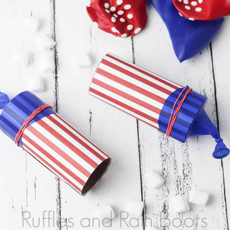 DIY Marshmallow Launchers for 4th of July Fun