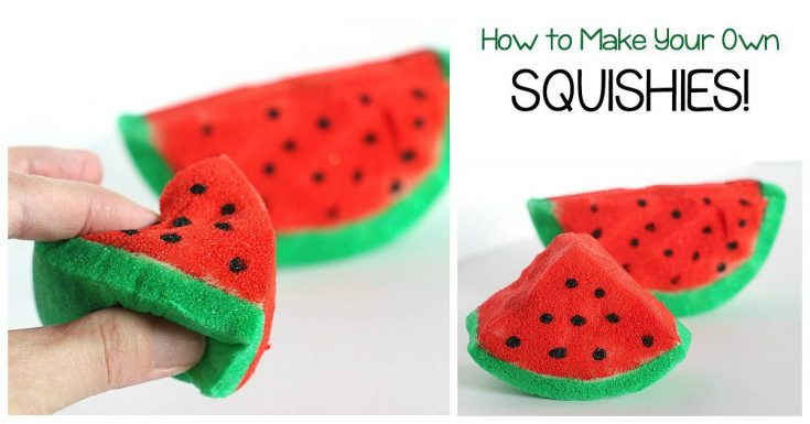 Make your own squishies- the hottest toy craze right now!