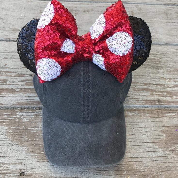 Vintage Minnie Mouse Inspired Hat