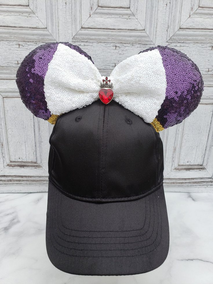 Evil Queen Inspired Mouse Ears Hat
