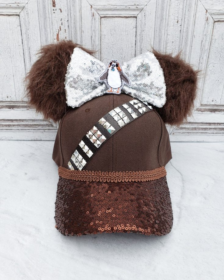 Chewbacca Themed Mouse Ears Hat
