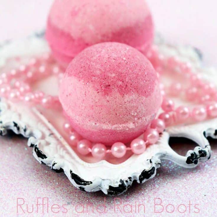 Princess Aurora Bath Bombs