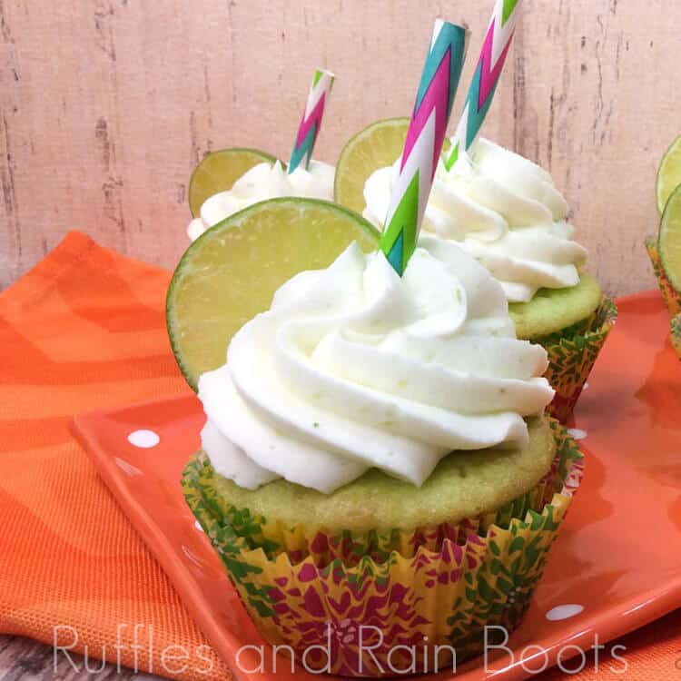 These Key Lime Cupcakes are the Perfect Sophisticated Treat