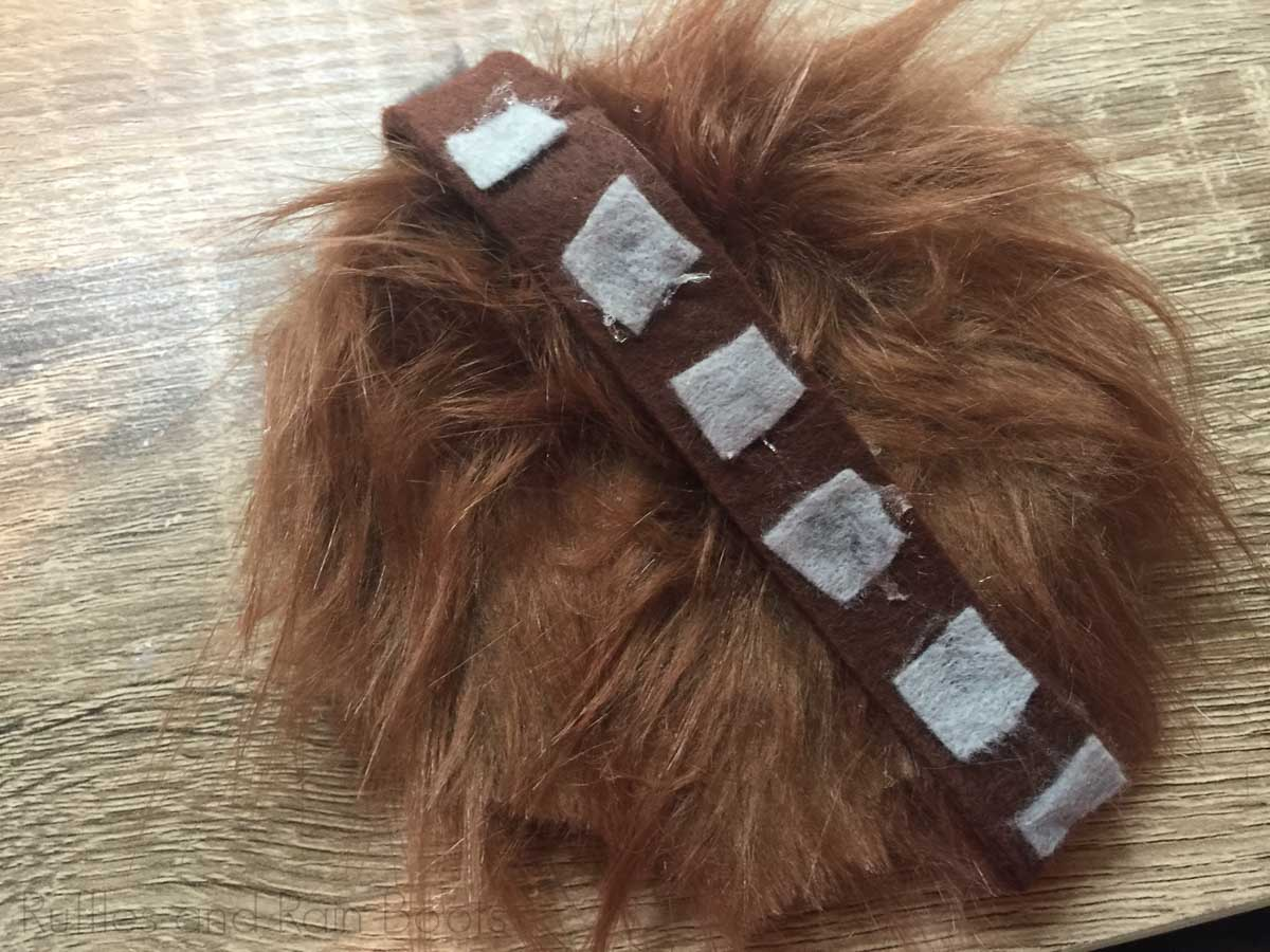 how to assemble chewbacca mickey ear