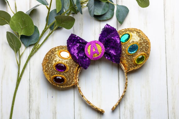 Avengers Infinity Gauntlet Thanos Mouse ears