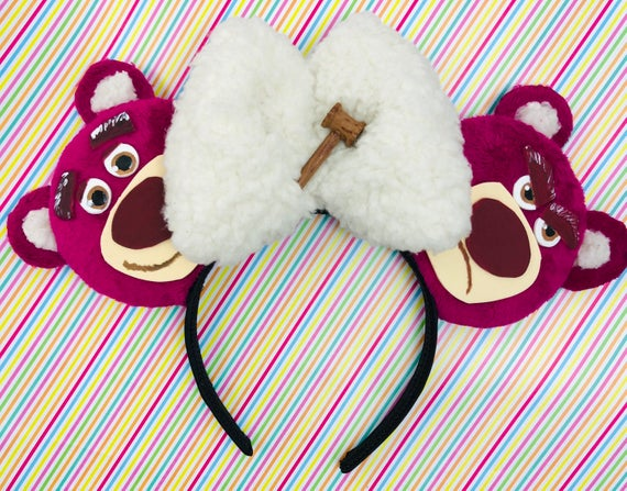 Toy Story Lotso Inspired Ears