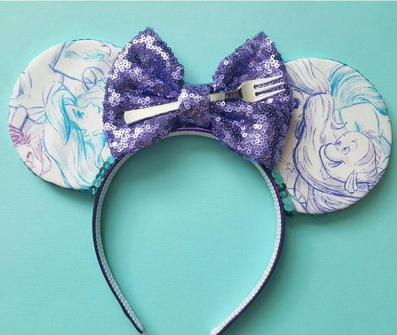 Mermaid Mouse Ears Headband