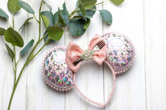 Pink Mermaid Mouse Ears