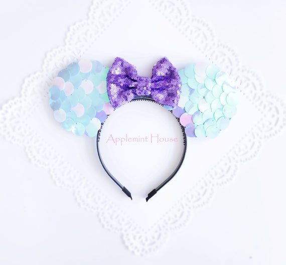 Mermaid Scale Sequin Ears