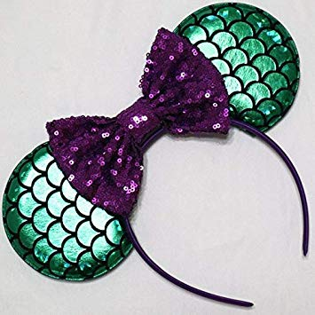 Little Mermaid Mickey Ears