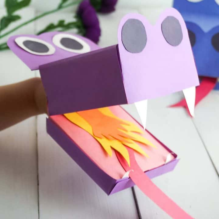 Paper Dragon: a Bright Craft for Kids Step by Step | 720x720