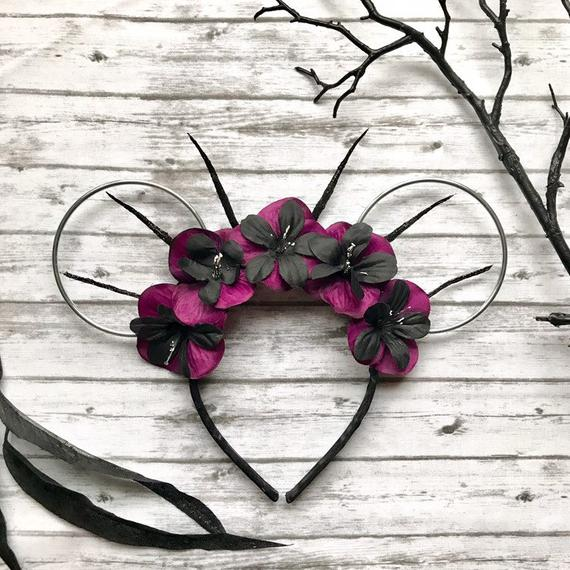 Ursula from the Little Mermaid Inspired Wire Minnie Ears