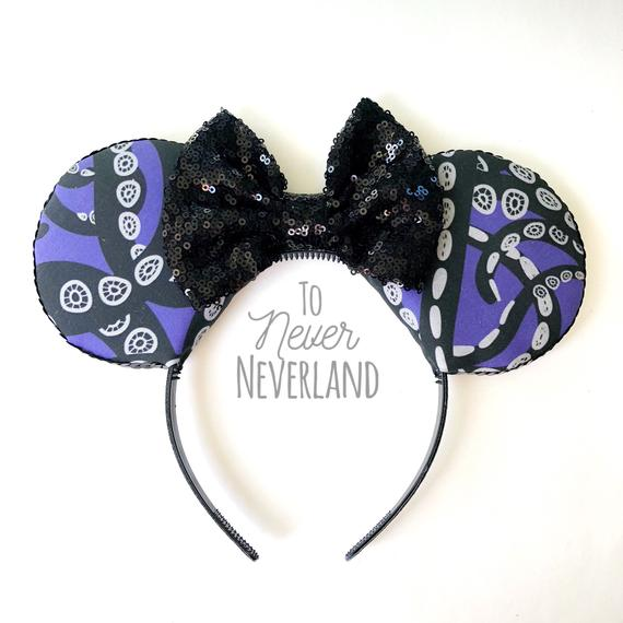 Ursula Mickey Ears Headband