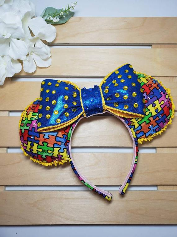 Autism Awareness Mouse Ears